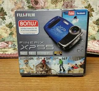 Fujifilm Finepix Xp55 14mp Camara Digital Color Azul