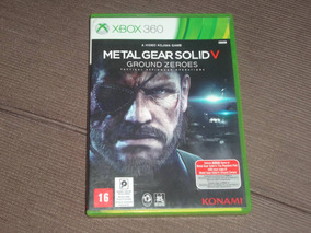 Metal Gear Solid 5 Ground Zeroes ( Xbox 360 )