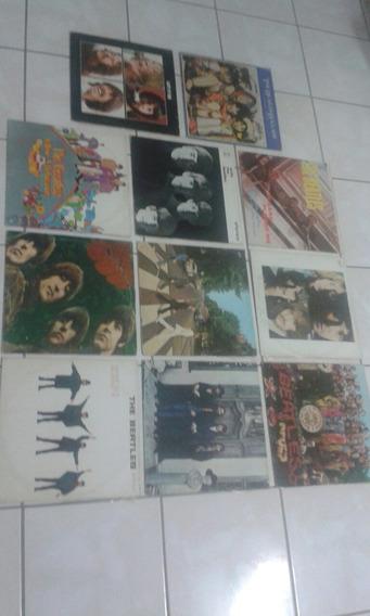 11 Discos Dos Beatles Em Ótimoestado Tanto Capa Quanto Disco
