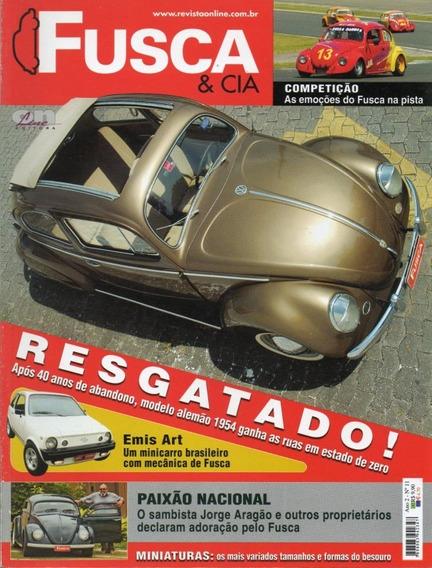 Fusca & Cia Nº11 Vw Sedan 1954 Kombi Série Prata Emis Art