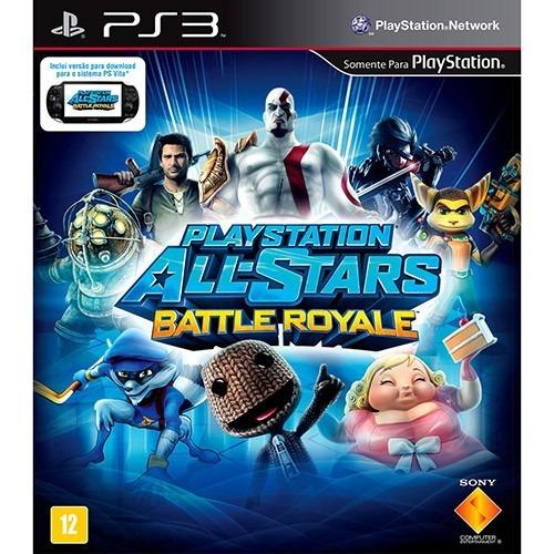 Jogo Playstation Allstars Battle Royale Ps3 Física Frete Grá