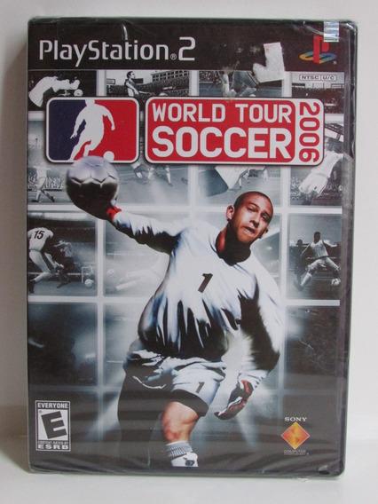 World Tour Soccer 2006 - Game Original Lacrado Playstation 2