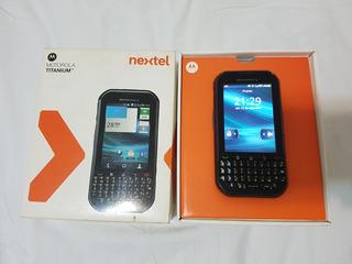 Nextel Motorola Titanuim - Super Novo