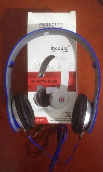 Headphones Azul Igoodlo