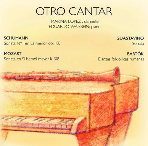 Clarinete Piano. Guastavino. Mozart Marina López E Waisbein