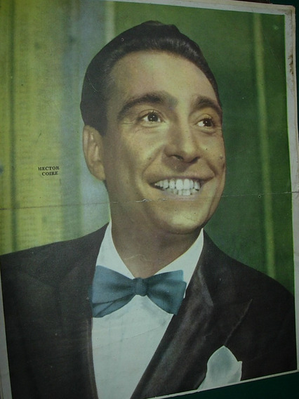 Hector Coire Poster Original Guia Television Cine Televisor