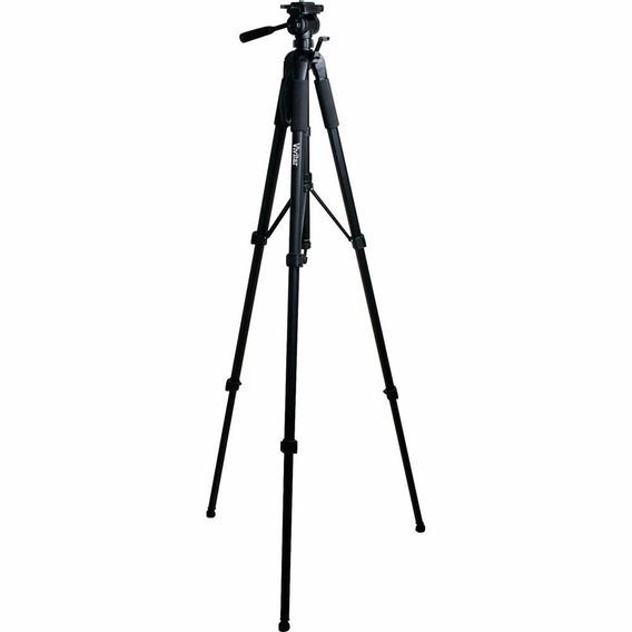 Tripé Profissional Até 170cm Vivitar Vivvpt4867 Preto 170cm