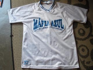 Camisa Da Torcida Mafia Azul