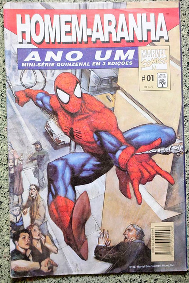 Homem-aranha Ano Um