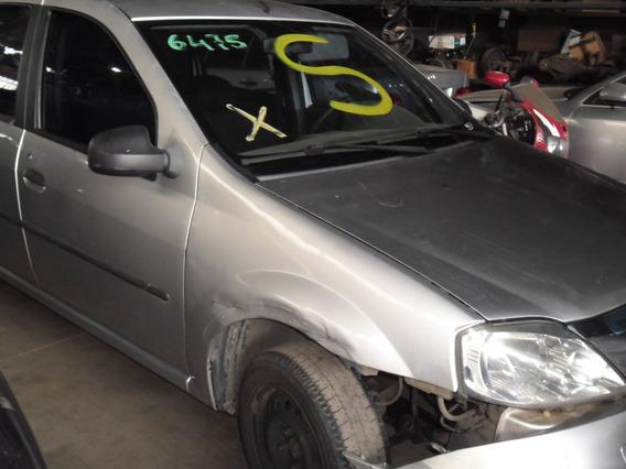 Sucata Logan 1.0 16v 2010 Pra Tirar Peças Motor Porta Capo