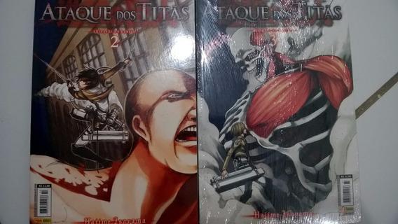 Mangá Ataque Dos Titãs Volume 3