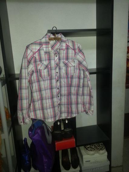 Camisa Escocesa Mujer