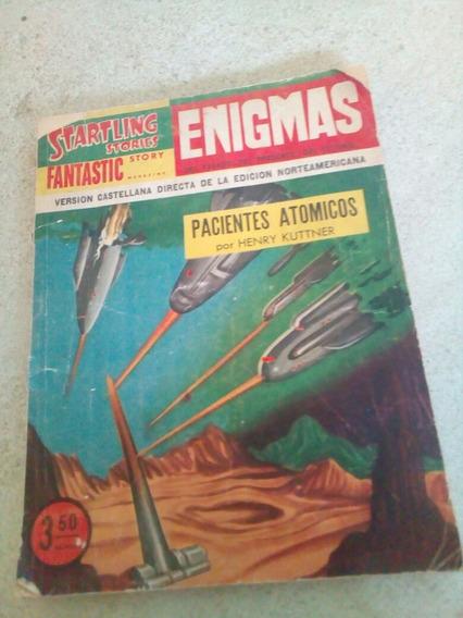 F3 Revista Enigmas Startling Stories- Henry Kuttner- 1956