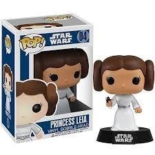 Funko Pop #04 - Princess Leia - Star Wars - 100% Original