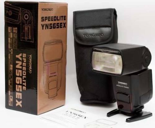 Flash Yongnuo Yn565ex Ttl Compatível Com Câmeras Nikon