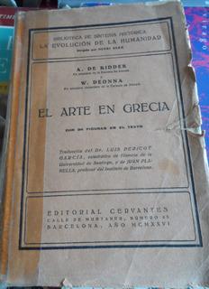 Libro El Arte En Grecia A De Ridder-w Beonna