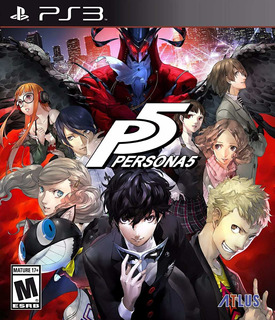 Persona 5 - Ps3 - Digital - Manvicio