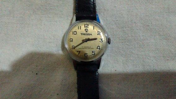 Relógio Feminino Tressa Antigo À Corda