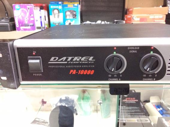 Amplificador De Potencia Datrel Pa-10000 Profissional
