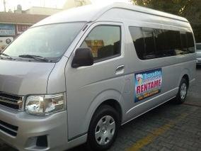 Renta De Camionetas Toyota O Nissan Para 7 15 Y 20 Pasajeros