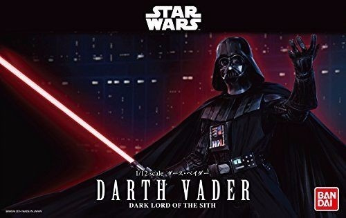 Star Wars Darth Vader Scale 1/12 ( Bandai ) Kit De Montar