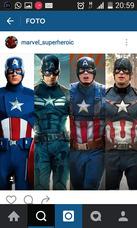 Capitan America Y Sus Amigos!!!