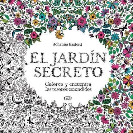 Imagen 1 de 6 de El Jardin Secreto - Johanna Basford - V & R - Libro Colorear
