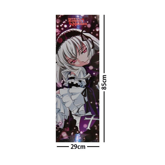 Rozen Maiden Poster Largo Plastificado Suigintou Cruz