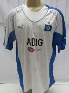 Camisa Futebol Hamburgo Alemanha #25 Mpenza Bundes Liga - Y