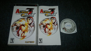 Street Fighter Alpha 3 Max Completo Para Sony Psp,checalo.
