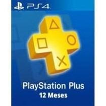 Playstation Network 1 Año Plus Tarjeta Prepago Gift Usa Psn