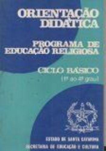 Orientação Didática: Programa De Educação Religiosa