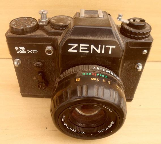 Câmera Fotográfica Zenit Antiga