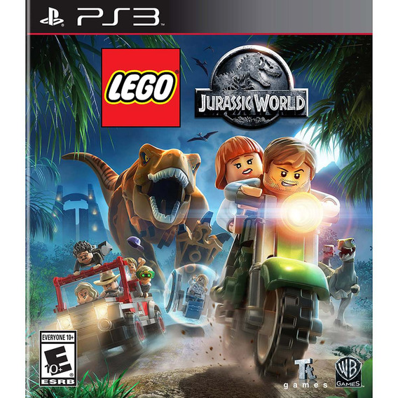 Lego Jurassic World (mídia Física 100% Pt-br) Ps3 (novo)