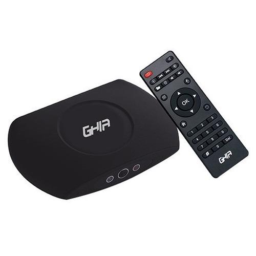 Nuevo Smart Tv Box Ghia Quad Core, Wifi, Android 4.4, Hd 4k