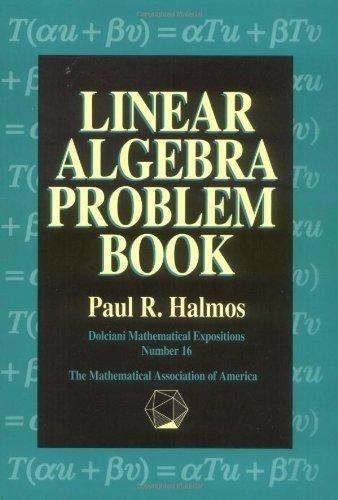 Livro Importado Linear Algebra Problem Book