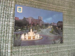 Cartão Postal Antigo Espanhol Puerta De Alcalá