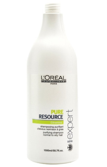 Shampoo Loreal Pure Resource Purificante 1.5 Lt En Cuotas