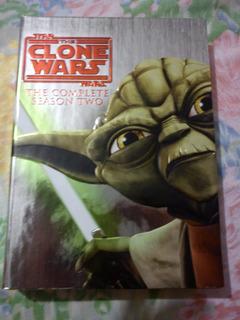 Clone Wars - The Second Season - Star Wars - 4 Discos