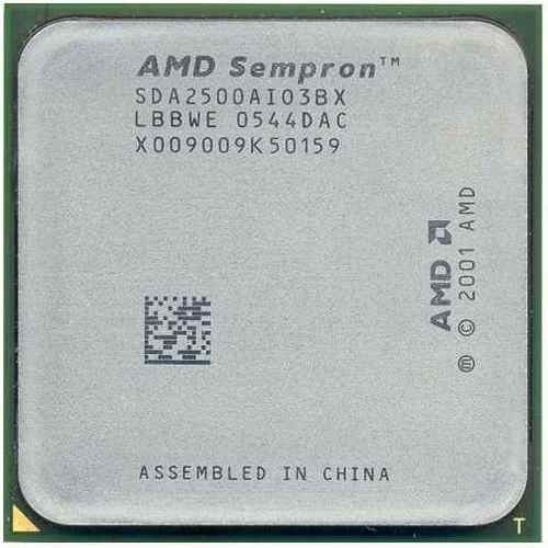 Processador Amd Sokete 754 Sempron 2500 1.4mhz Sda2500aio3bx