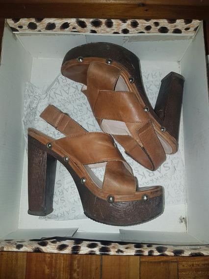Zapatos Plataformas Sarkany Suela