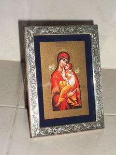 Portarretrato/cuadro Madonna Italy Bizantine Seminary