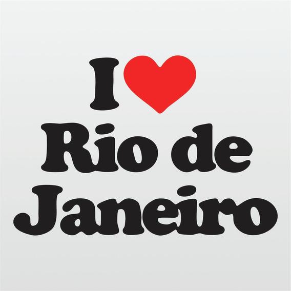 Kit 3x Adesivo Rio De Janeiro Cidades Paisagens 10cm A140