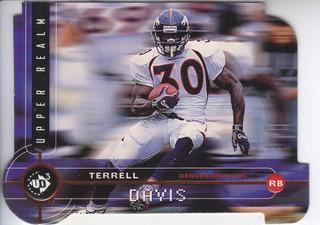 1998 Ud3 Dc Terrell Davis Denver Broncos /2000