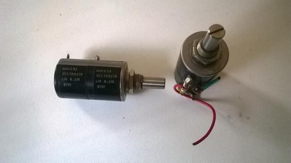 Potenciometro Spectrol 5k Duplo Mod 533