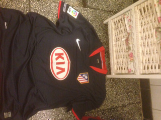Camiseta Del Atl De Madrid,talle L.impecable