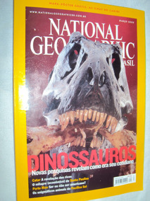 Revista National Geographic - Dinossauros (sebo Amigo)