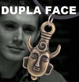 Colar Amuleto Supernatural Dean Winchester ( Frete Fixo )