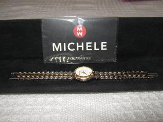 Reloj Para Dama Michele 72-300 Original