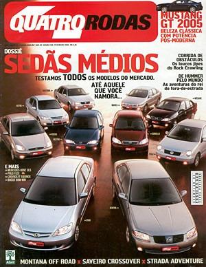 4r.536 Fev05- Corolla Civic Sentra Astra Vectra Focus Mégane
